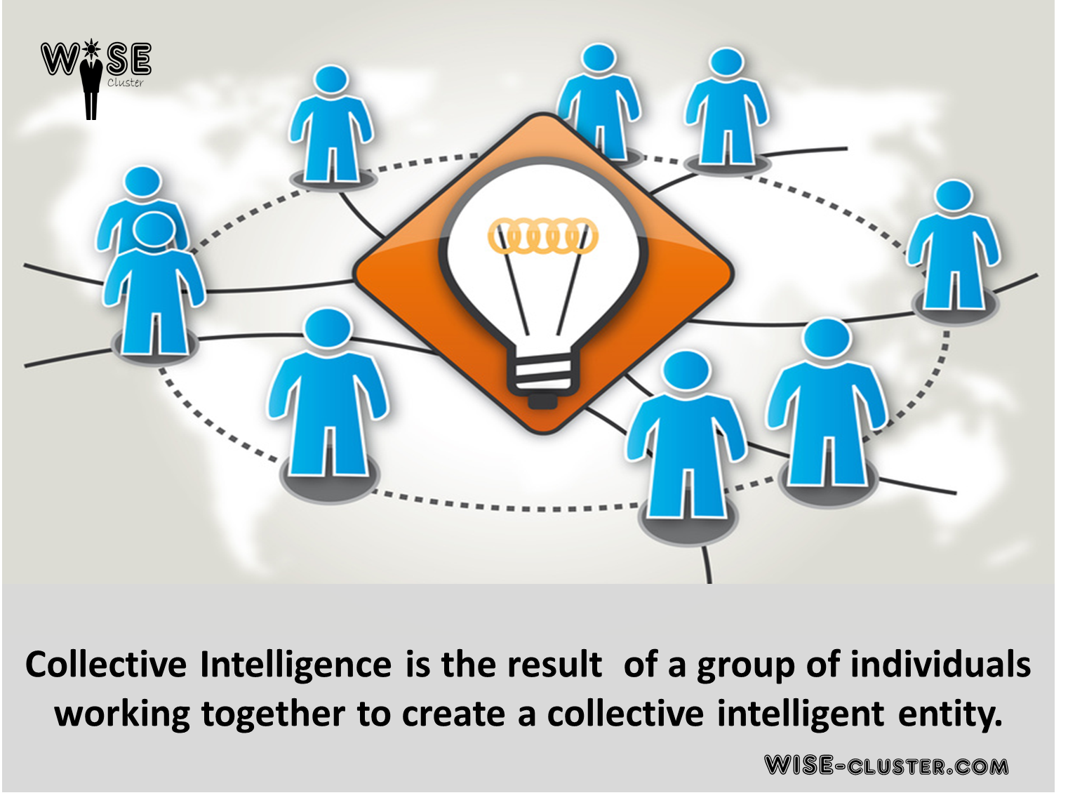 Crowdsourcing consulting collective intelligence wise cluster